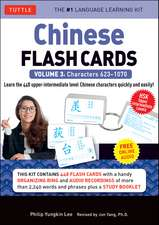 Chinese Flash Cards Kit Volume 3: HSK Upper Intermediate Level (Audio CD Included)