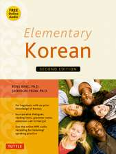 Elementary Korean : Second Edition (Includes Access to Website & Audio CD With Native Speaker Recordings)
