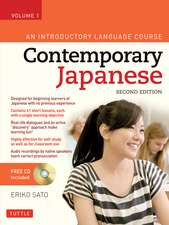 Contemporary Japanese Textbook Volume 1: An Introductory Language Course (Audio CD Included)