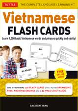 Vietnamese Flash Cards Kit