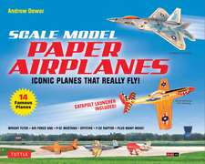 Scale Model Paper Airplanes Kit