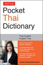 Tuttle Pocket Thai Dictionary: Thai-English / English-Thai