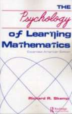 Skemp, R: The Psychology of Learning Mathematics