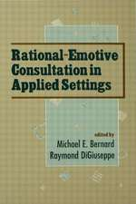 Rational-Emotive Consultation:  Society for Personality Assessment Fiftieth Anniversary
