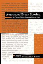 Automated Essay Scoring:  A Cross-Disciplinary Perspective