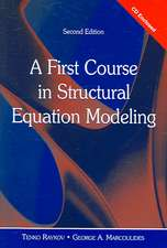 A First Course in Structural Equation Modeling [With CDROM]:  The Quest for What It Means to Be Human