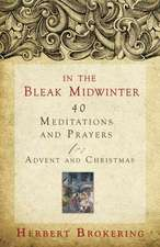 In the Bleak Midwinter:  40 Meditations and Prayers for Advent and Christmas