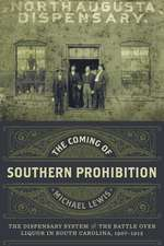 The Coming of Southern Prohibition
