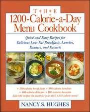 The 1200-Calorie-a-Day Menu Cookbook