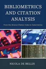 Bibliometrics and Citation Analysis