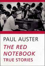 The Red Notebook – True Stories