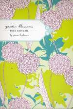 Garden Blossoms Fold and Mail Stationery