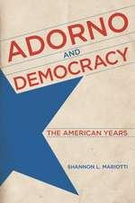 Adorno and Democracy