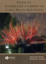 Guide to Tendrillate Climbers of Costa Rican Mountains