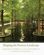 Shaping the Postwar Landscape