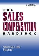The Sales Compensation Handbook