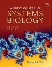 A FIRST COURSE IN SYSTEMS BIOLOGY 2