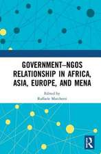 Government-NGO Relationships in Africa, Asia, Europe and MENA