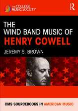 Wind Band Music of Henry Cowell