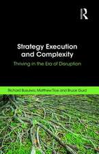 Busulwa, R: Strategy Execution and Complexity