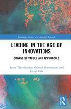 Leading in the Age of Innovations