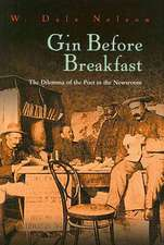 Gin Before Breakfast:  The Dilemma of the Poet in the Newsroom