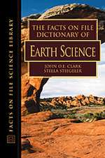 """Facts on File Dictionary of Earth Science: """""""""""