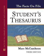 Student's Thesaurus