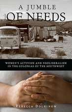 A Jumble of Needs: Women's Activism and Neoliberalism in the Colonias of the Southwest