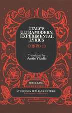 Italy's Ultramodern, Experimental Lyrics