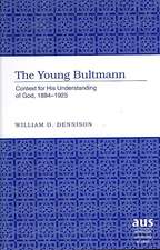 The Young Bultmann