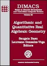 Algorithmic and Quantitative Real Algebraic Geometry