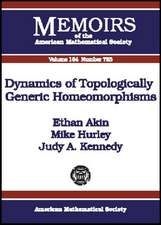 Dynamics of Topologically Generic Homeomorphisms