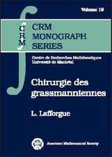 Chirurgie Des Grassmanniennes