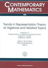 Trends In Representation Theory Of Algebras And Related Top