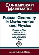 Poisson Geometry in Mathematics and Physics