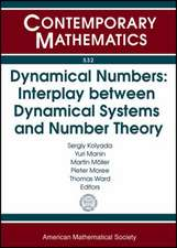 Dynamical Numbers