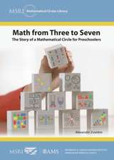Zvonkin, A:  Math from Three to Seven