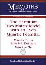 Duits, M:  The Hermitian Two Matrix Model with an Even Quart
