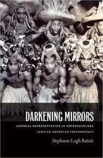 Darkening Mirrors:  Imperial Representation in Depression-Era African American Performance