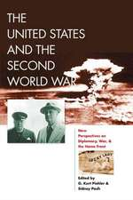 The United States and the Second World War