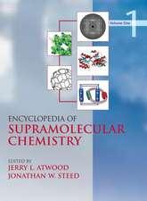 Encyclopedia of Supramolecular Chemistry - Volume 1 of 2 (Print)