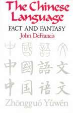 DeFrancis: Chinese Lang Paper