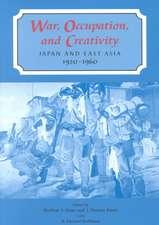 War Occupation and Creativity