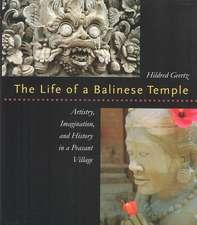 Geertz:  Life of a Balinese Templecl