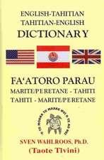 ENGLISH-TAHITIAN TAHITIAN-ENGL