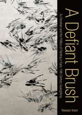 A Defiant Brush