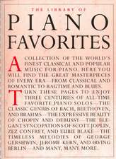 The Library of Piano Favorites