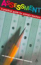 Assessment: A Practical Guide for Primary Teachers