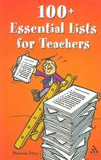 100 Essential Lists for Teachers 2nd Edition: 2nd Edition